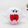 20pcs/lot 15cm Super Mario Bros Yoshi Boo Ghost Long Tongue White Mushroom Soft Stuffed Plush Doll
