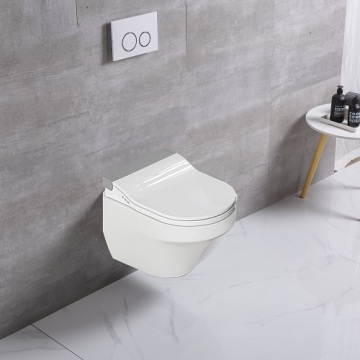 Bathroom Sanitary Ware Gold Wall Hung Toilet