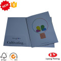 A4 custom printed file folder with pockets