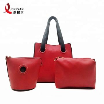 Luxury Tote Cross Purse and Wallet Set