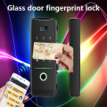 fingerprint Glass door lock