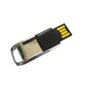 Gold Silver Mini Metal Swivel USB Flash Drive