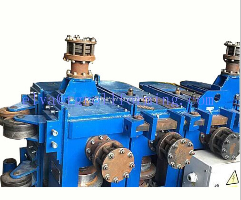 Sprial steel silo forming machine for storage