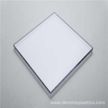 Hard plastic sheet clear polycarbonate sheet 16mm