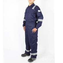 Kapas Kimpalan Industri Minyak Fr Working Coverall