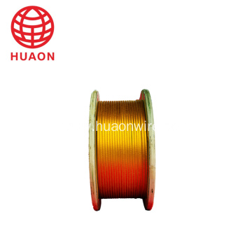 Polyester/ Polyimide Film Covered Aluminum Wire