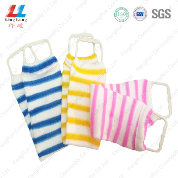 Absorbent variety long back scrubber belt sponge