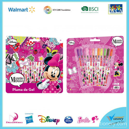 Mickey Mouse 12 Piece Gel Pen