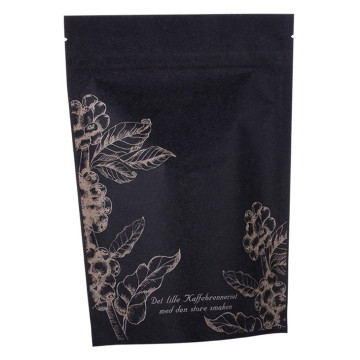 Tea Coffee Doypack Stand Up Pouch Packaging