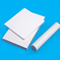 Customized White PTFE Sheet for food industry
