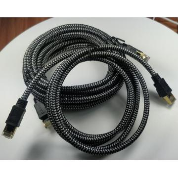 High Speed Cat8 Cable Compatible for Gaming PS5
