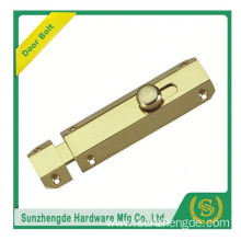 SDB-015BR China Manufacturer Brass Lever Action Flush Door Bolt For Wooden Doors Sale