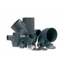 Cast iron pipe fitting