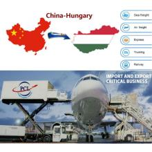 cosmetics and battery move from China to Hungary( BUD) airport