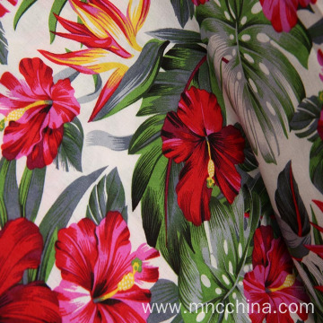 100% rayon spun viscose with popular print