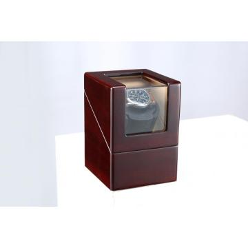 Single Rotation Cream Velvet Watch Winder
