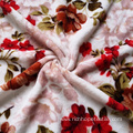 100%Polyester Different Types Of Flannel Coral Velvet Fabric