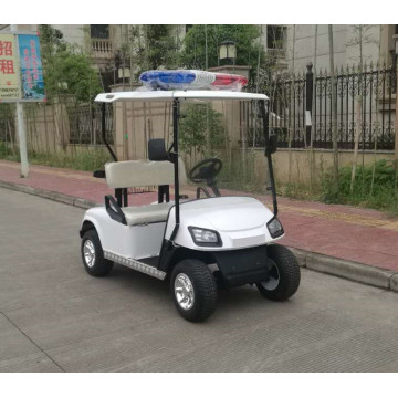 2 seaters electric cop golf cart