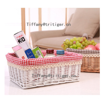 Handmade cheap Christmas gift wicker basket wholesale