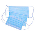 Portable 3 Ply Disposable Masks Non-woven Medical Face Mask With Elastic Earloops