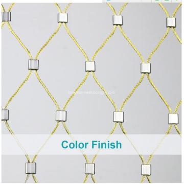 SUS Flexible Cable Rope Netting