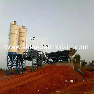 Mobile Concrete Batch Plant for Africa