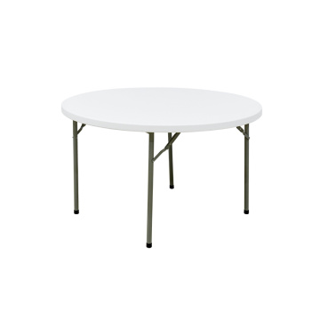 Modern 4FT Round Folding Outdoor Dining Table Catering