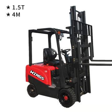 1.5t Electric Forklift 4m