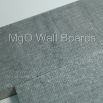 Refractory magnesium oxide wall panels