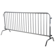 galvanized bridge feet crowd control barrier for sale