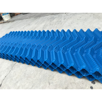 Industrial PVC 500mm Width Blue White Cooling Tower Fill