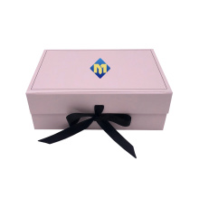 Pink Paper Clothing Gift Box for Shipping