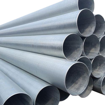 smls welded saw erw straight galvanized steel pipe
