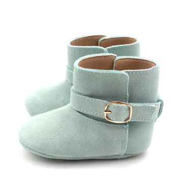 Leather Children Kids Newborn Baby Boots Shoes