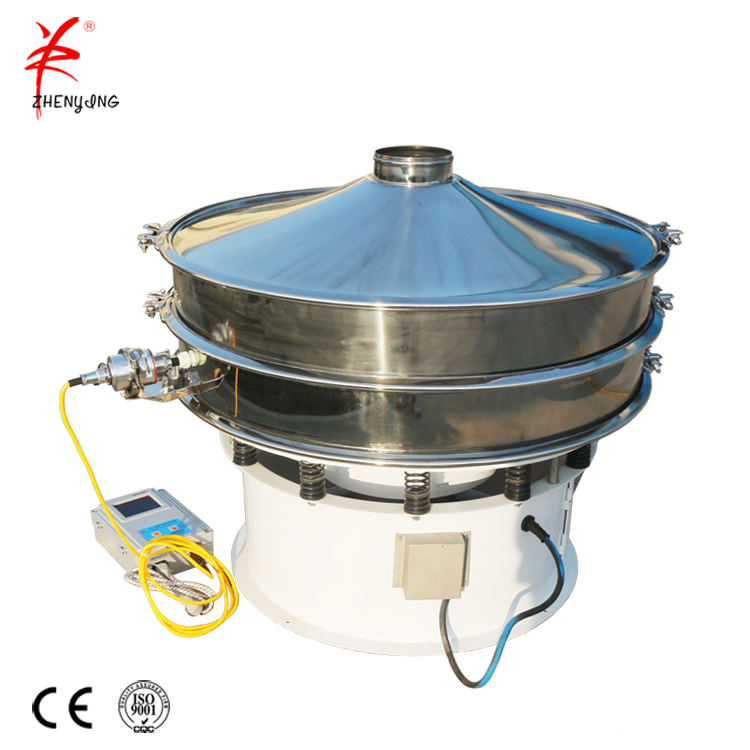 Food industry icing sugar vibrating sieving sifter machine