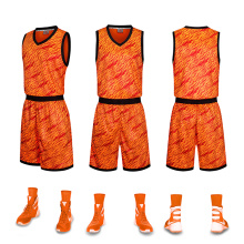 Uniforme de basketball à sublimation avec poche