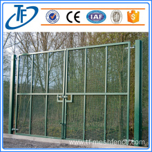 Galvanized anti-climb 358 fence with close mesh holes