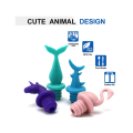 Animals Reusable Seal Wine Bottle Silicone Stoppers