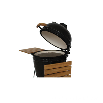 Roaster Smokeless Ceramic Kamado BBQ Grill