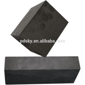 ISO9001 High Density Artifical Isostatic Graphite Product /Customized Big Graphite Block
