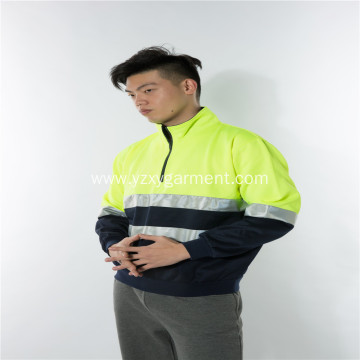 Reflector light color matching polar fleece workwear