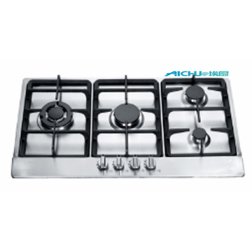4 Burners Stainless Steel Gas Hob