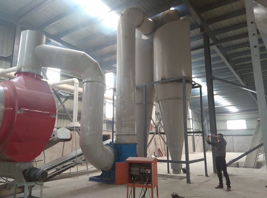 Wood Sawdust Dryer Dealing Machine