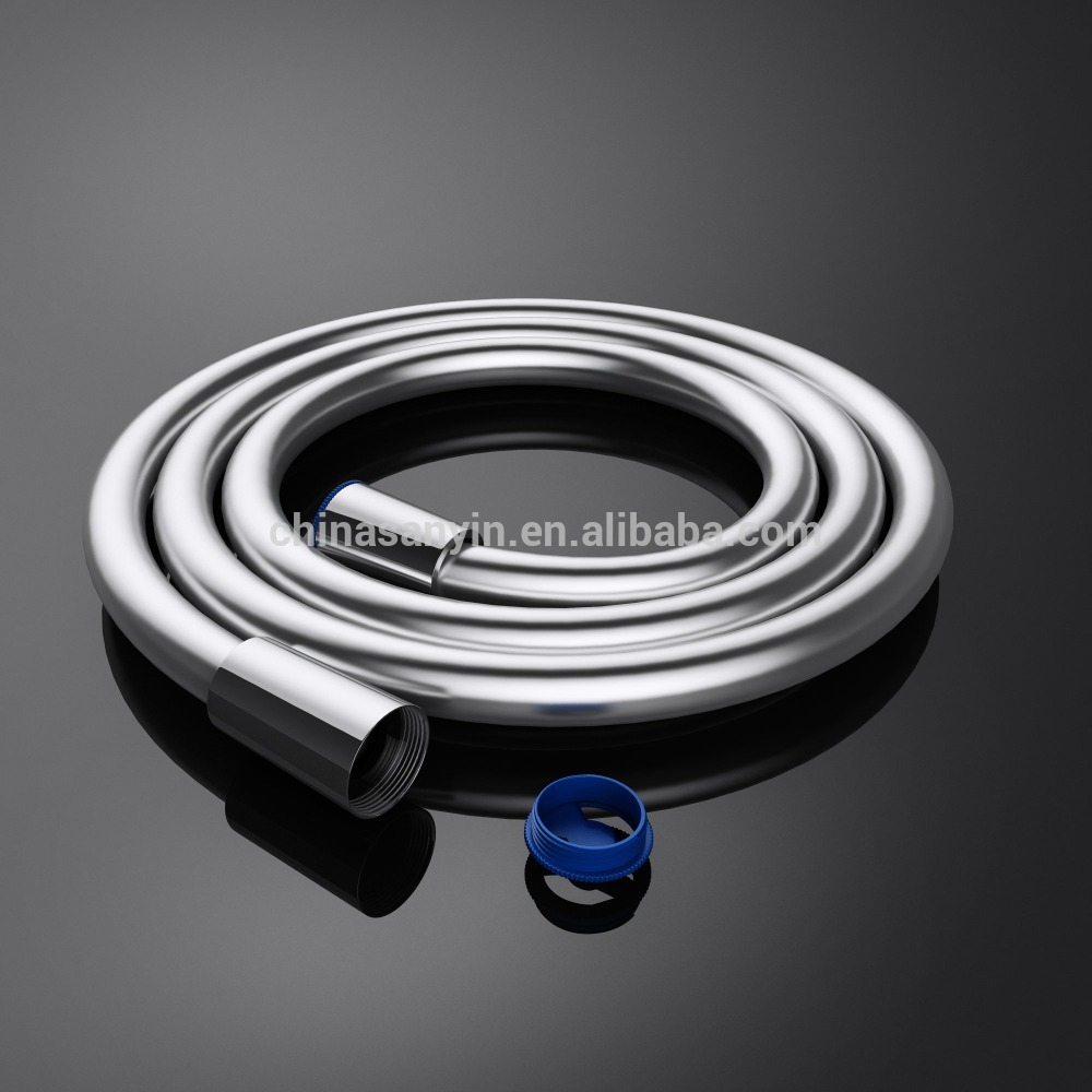 High Pressure Flexible Silver Plastic PVC Shower Hose