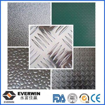 Aluminum Alloy Checker Plate One Bar Two Bar Five Bar