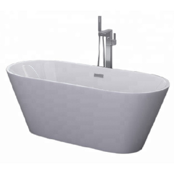 Acrylic Freestanding Bathtub with Soaking Function
