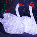 Outdoor garden decor led lighted goose