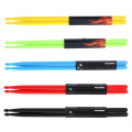 Druml Accessories 5A Drumsticks Drum Sticks Nylon Material Lightweight Design for Drum Set 5 Colors for Choosing