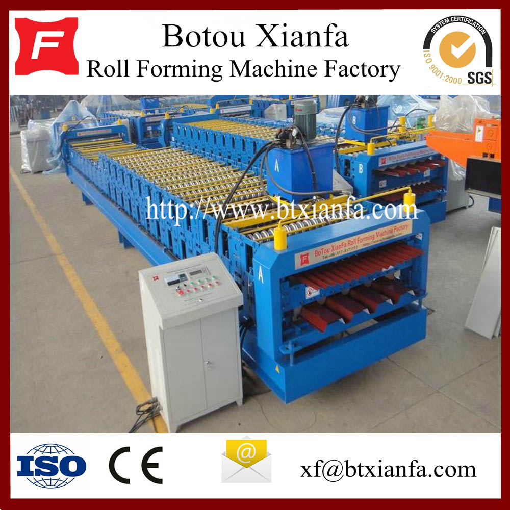 Metal Steel Sheet Roll Forming Machine Germany