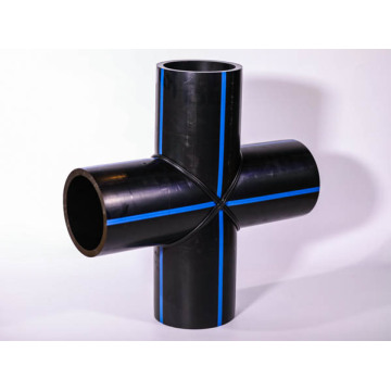 PE100 HDPE pipe fitting for PE pipe SDR17